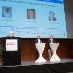 Global Panel mit Peter Jungen, David Assia, David S. Rose