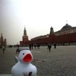 Ente in Moskau (1) von BAND