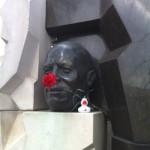 Ente in Moskau (2) von BAND