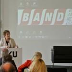 PSt Brigitte Zypries spricht zu den Teilnehmern des Angels Investment Check