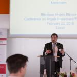 Dr. Georg Licht stellt die Forschungsergebnisse des ZEW in Mannheim vor