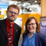 Dr. Jens Clausen und Linda Bergset, Borderstep