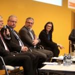 Das Panel diskutierte das Potential für grüne Start-ups
