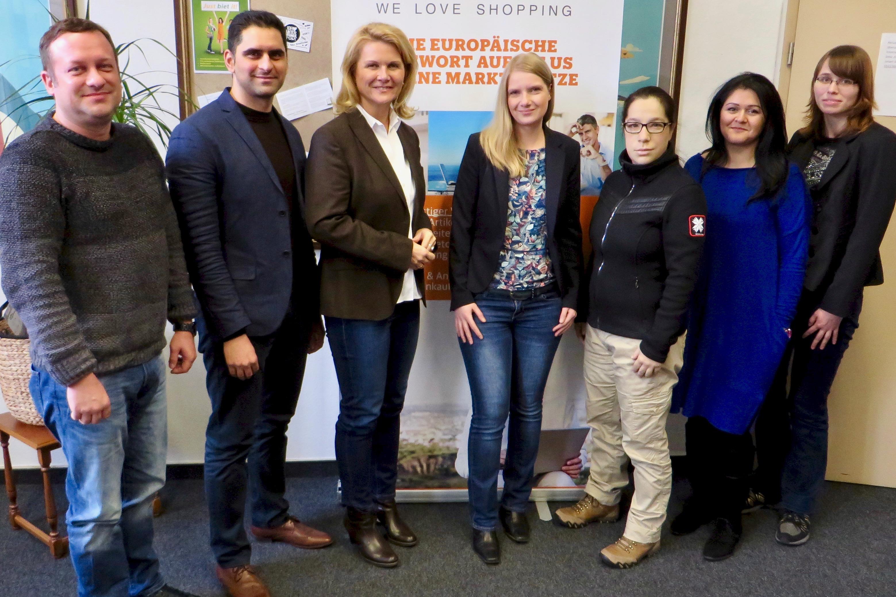 smartvie-Team und Sabine Poschmann2